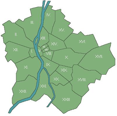 budapest kerület térkép Idősotthonok Budapest II. kerületben / Keresők budapest kerület térkép